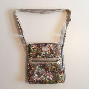 Sakroots Tablet Crossbody Bag Purse Bird Print